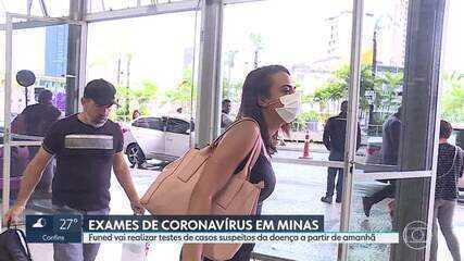 Funed vai realizar exames de casos suspeitos de novo coronavírus em Minas