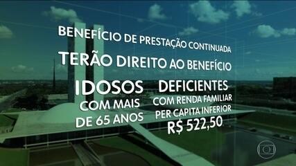 Congresso derruba veto de Bolsonaro e aumenta abrangência de benefício
