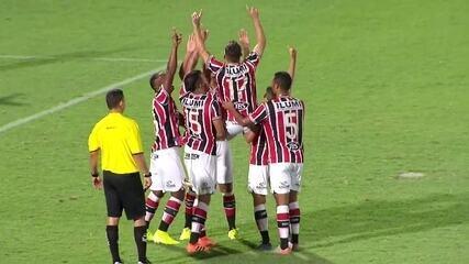 Melhores momentos de Santa Cruz 3 x 0 Botafogo-PB, pela Copa do Nordeste