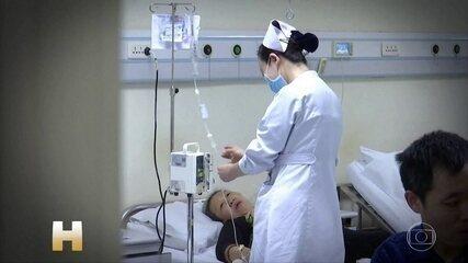 Casos de novo coronavírus podem estar em declínio em alguns países da Ásia