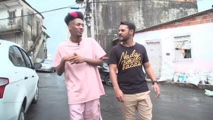 Rapper baiano Yan Cloud conta como a comunidade onde vive o inspira a compor
