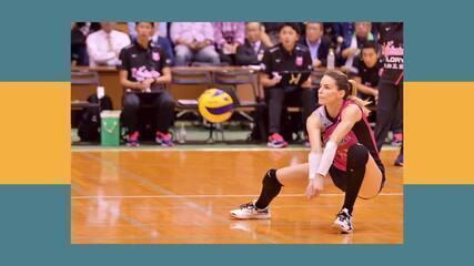 Assista a entrevista de Daiane Fardin com a jogadora de vôlei, Suelle Oliveira