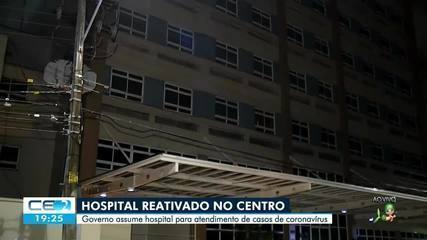Hospital desativado será usado para atender casos de Coronavírus no Ceará