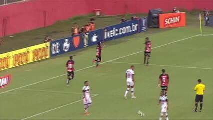 Os gols de Vitória 4 x 1 River-PI - Copa do Nordeste 2020