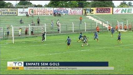Tocantinópolis empata com Interporto no Ribeirão