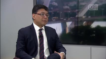 Secretário de Saúde, Osnei Okumoto fala sobre situação de pacientes com coronavírus no DF