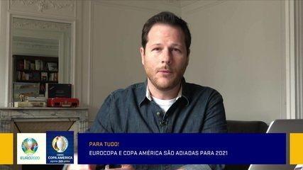 Efeito Coronavírus: Redação debate o adiamento da Euro e da Copa América para 2021