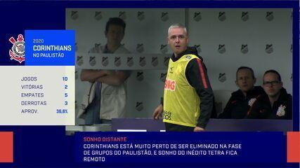 """""""Até agora deu tudo errado"""", diz jornalista sobre o momento do Corinthians"""