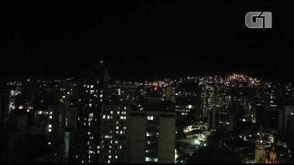 Moradores de Belo Horizonte protestam com panelas contra o governo