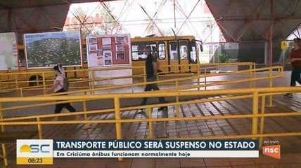 Veja como vai funcionar o transporte coletivo de Santa Catarina a partir desta quarta