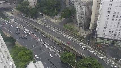 Coronavírus: São Paulo e Rio de Janeiro amanhecem com pouco movimento nas ruas