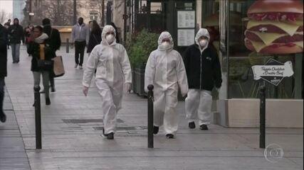 Autoridades da China reportam 34 novos casos de coronavírus todos vindos de fora do país