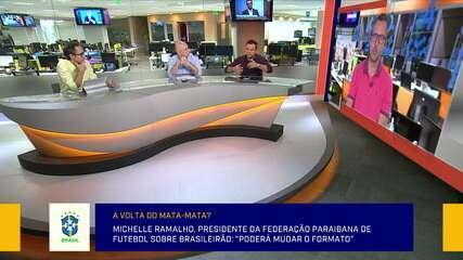 Jornalistas debatem possível mudança na fórmula do Campeonato Brasileiro