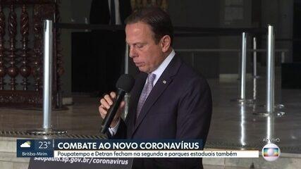 João Doria vai decretar estado de emergência em São Paulo