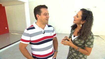 Maria Menezes desbrava o bairro de Portão, em Lauro de Freitas
