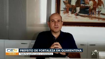 Prefeito Roberto de Fortaleza está de quarentena por causa do coronavírus