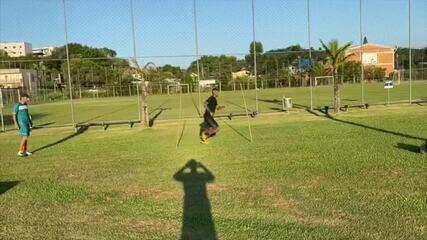 Ricardo Lopes treina no Tocantins antes de reapresentação