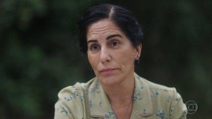 Lola desabafa com Teresa sobre a situação dos seus filhos