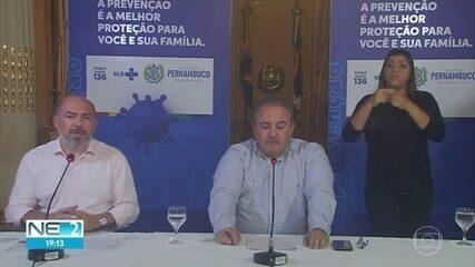 Pernambuco tem 4 mortes por Covid-19 e 57 casos confirmados de coronavírus