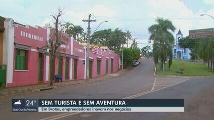 Empresários do setor de turismo inovam para reverter prejuízos em Brotas