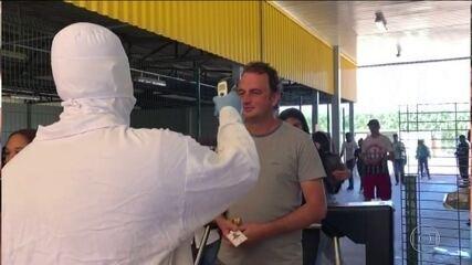 Indústria adota medidas de segurança contra o coronavírus
