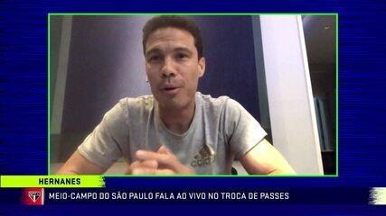 """Hernanes, do São Paulo, revela preocupação com a Itália, onde defendeu três times: """"Coração apertado"""""""