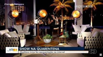 Gusttavo Lima faz show na web durante quarentena e tem mais de 10 milhões de visualizações