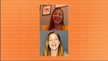 Marina Ruy Barbosa fala sobre 'Totalmente Demais' em live
