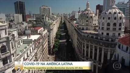 Argentina proíbe demissões durante 60 dias