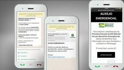 Covid-19: milhões de brasileiros clicaram em links falsos desde o início da pandemia