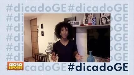 #dicadoGE: personal Eliana Santos prepara treino de cardio para se fazer em casa