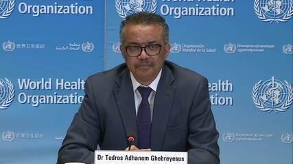 'O melhor jeito de suspender as restrições é atacar o vírus', diz diretor-geral da OMS