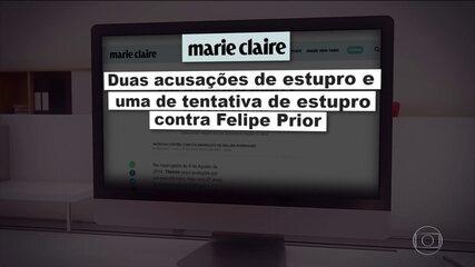 Felipe Prior, do 'BBB20', é acusado de estupro e tentativa de estupro por 3 mulheres