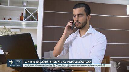 Iniciativas de universidades de Campinas ajudam a esclarecer sobre a Covid-19