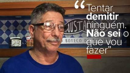 Com bar fechado, empresário do Rio avalia suspender contrato de funcionários