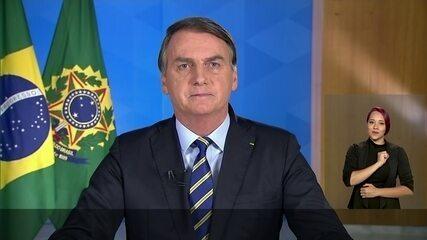Jair Bolsonaro faz novo pronunciamento sobre a Covid-19