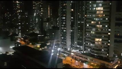 Panelaço é registrado em Boa Viagem, na Zona Sul do Recife
