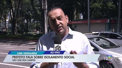 Prefeito de São José fala sobre isolamento social na cidade