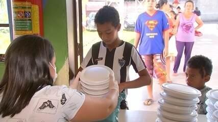 Merenda escolar vira marmita para alunos da rede municipal de Iperó