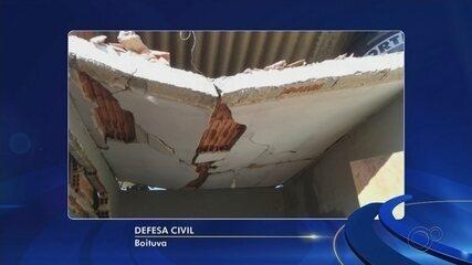 Explosão destrói casa e deixa morador ferido em Boituva