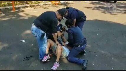 Mulher morde guarda e é detida após abordagem por descumprir quarentena em Araraquara