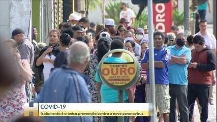 Índice de isolamento em São Paulo fica em 50%