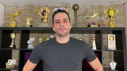 Goleiro Tiago fala sobre o final do Mundial de Futsal 2012