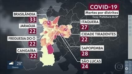 Estado de São Paulo tem 778 óbitos pela Covid-19