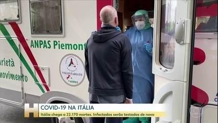 Itália registra 525 mortes nas últimas 24 horas por causa do novo coronavírus