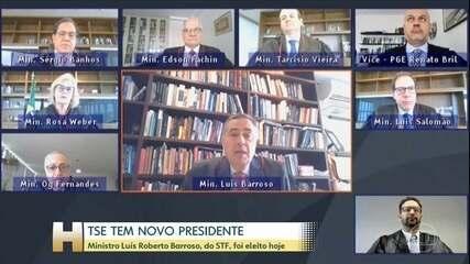 Ministro Luís Roberto Barroso foi eleito novo presidente do TSE