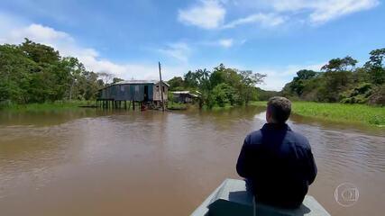 Caldeirão 20 anos: Huck acompanha o trabalho da Marinha do Brasil na Amazônia
