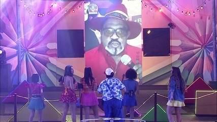 Gerson King Combo invade o telão no BBB20