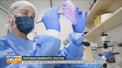 Estudo mostra que Ribeirão Preto deve ter pico de casos nas próximas três semanas