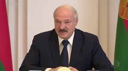 Presidente de Belarus sugere tratar o coronavírus com vodka e sauna